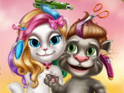 TALKING TOM SI ANGELA TUNSORI
