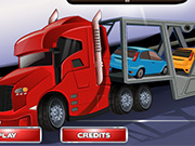 cara masini cu camionul trailer