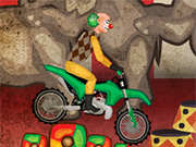 motociclistul clown