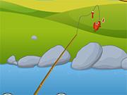 pescuieste pe lac